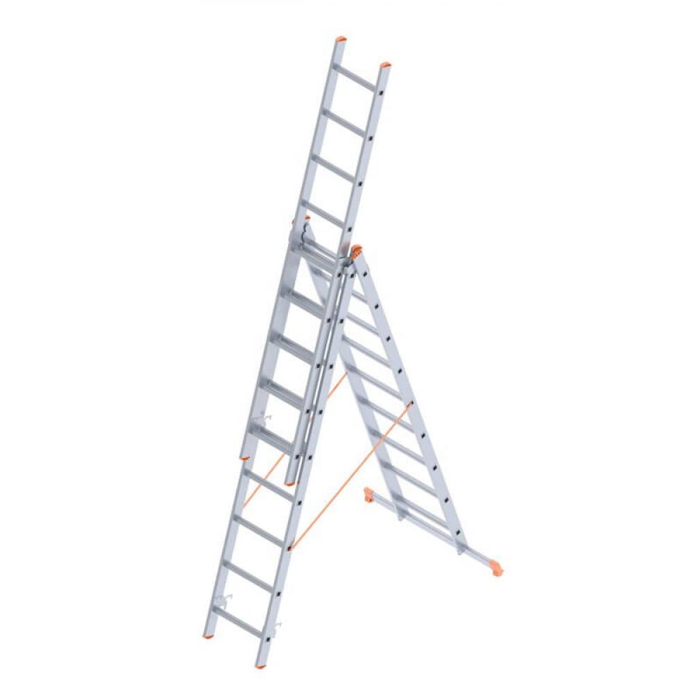 Алюминиевая лестница промышленник 3x9 4309