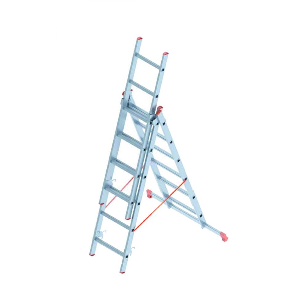 Алюминиевая лестница промышленник 3x6 4306