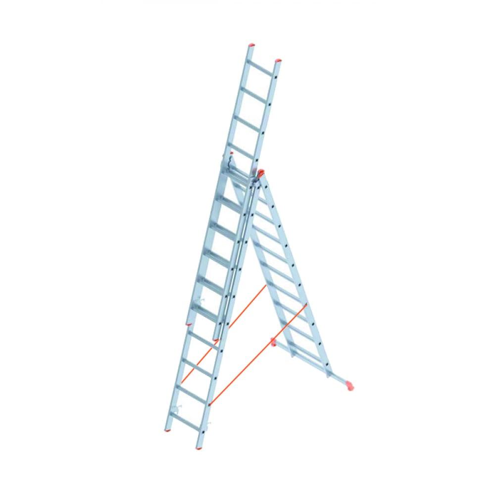 Алюминиевая лестница промышленник 3x10 4310