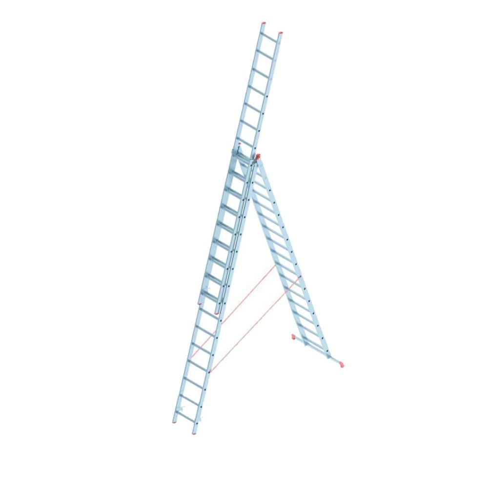 Алюминиевая лестница промышленник 3x16 4316