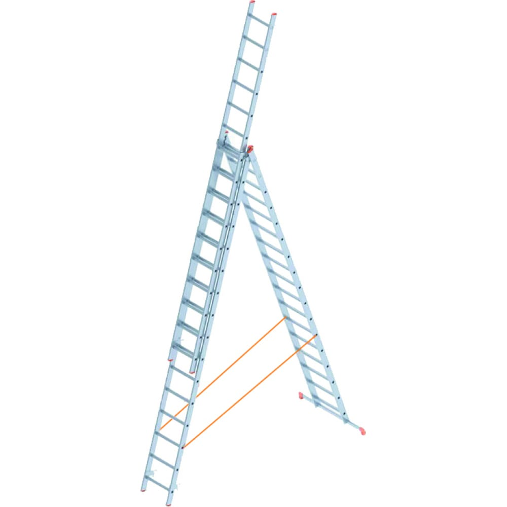 Алюминиевая лестница промышленник 3x17 4317