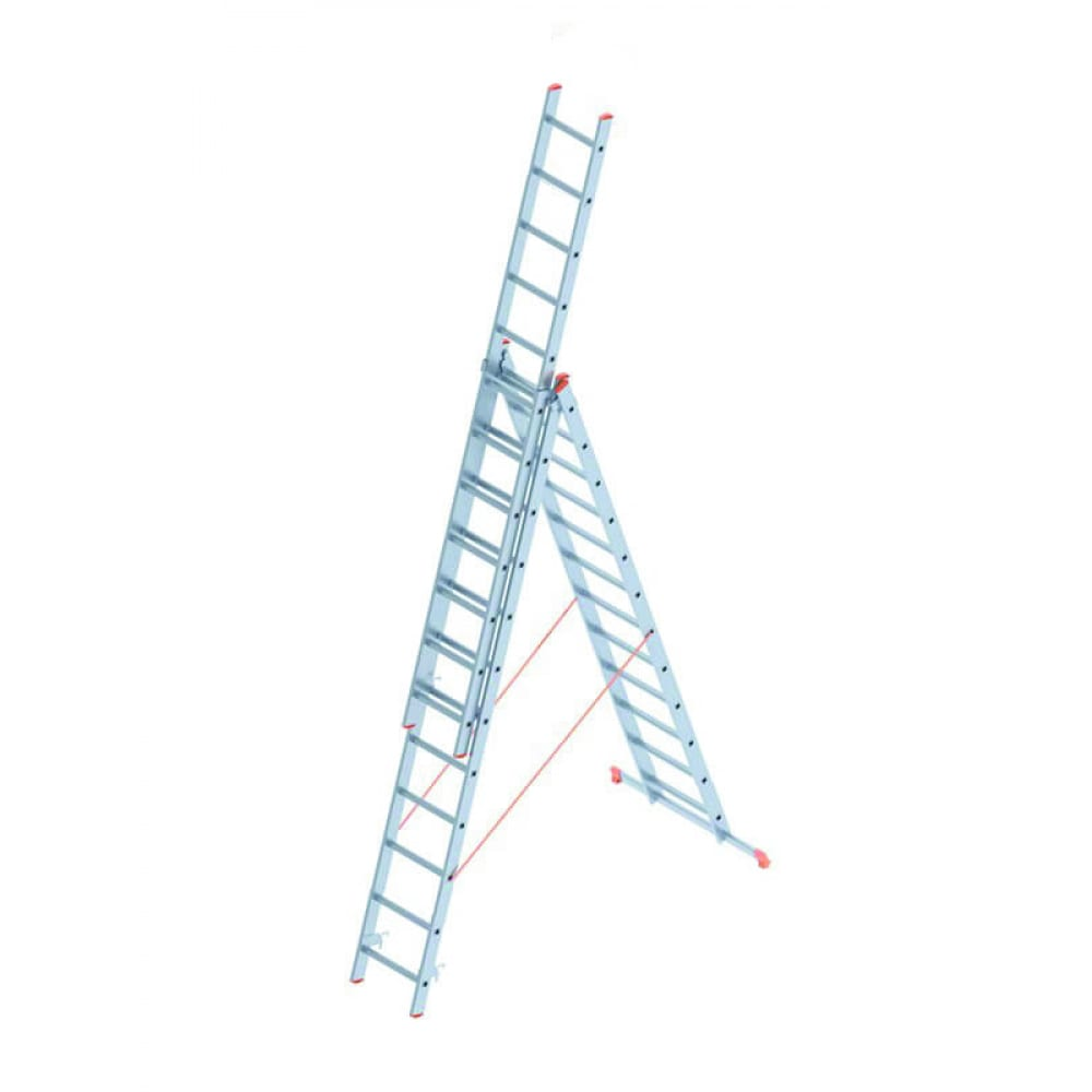 Алюминиевая лестница промышленник 3x12 4312