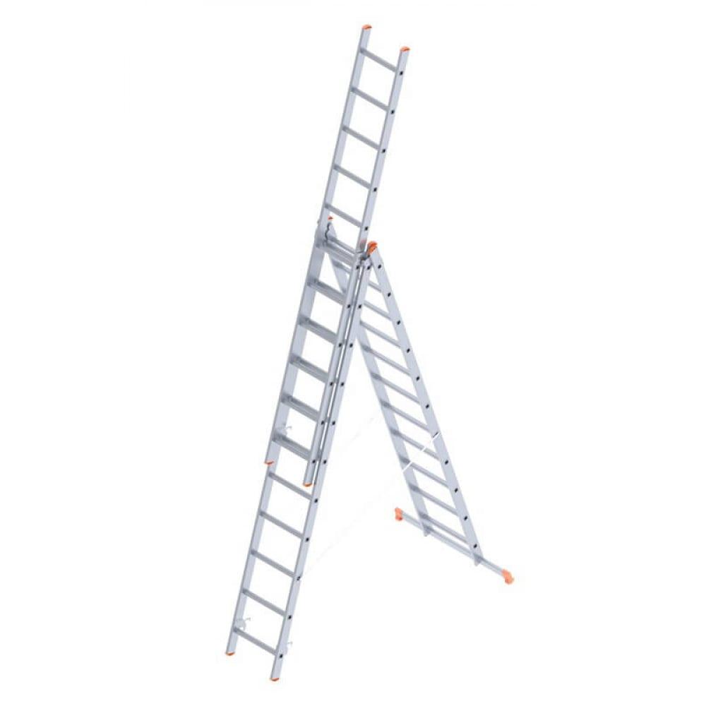 Алюминиевая лестница промышленник 3x11 4311