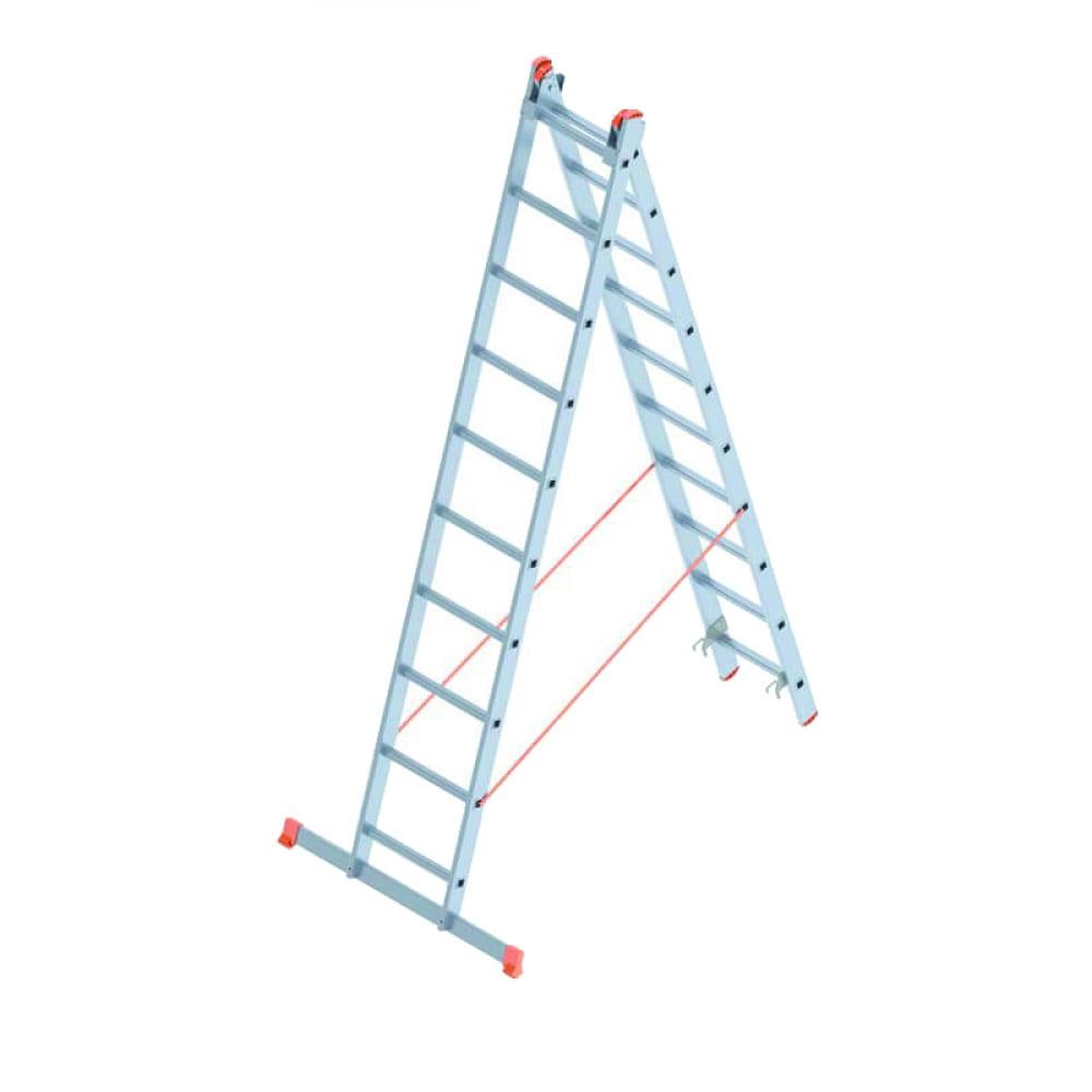 Алюминиевая лестница промышленник 2x10 4210