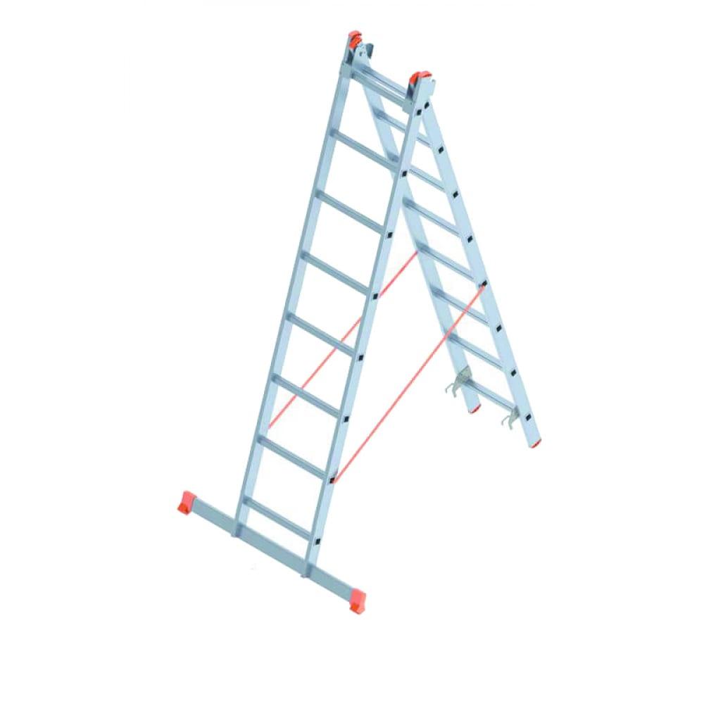 Алюминиевая лестница промышленник 2x8 4208