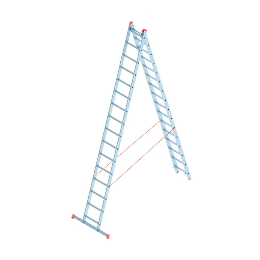 Алюминиевая лестница промышленник 2x16 4216