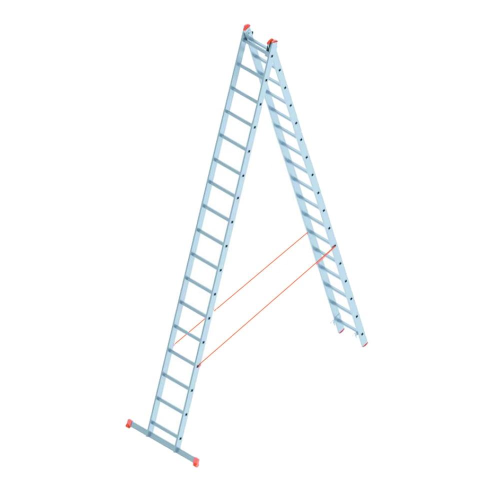 Алюминиевая лестница промышленник 2x17 4217