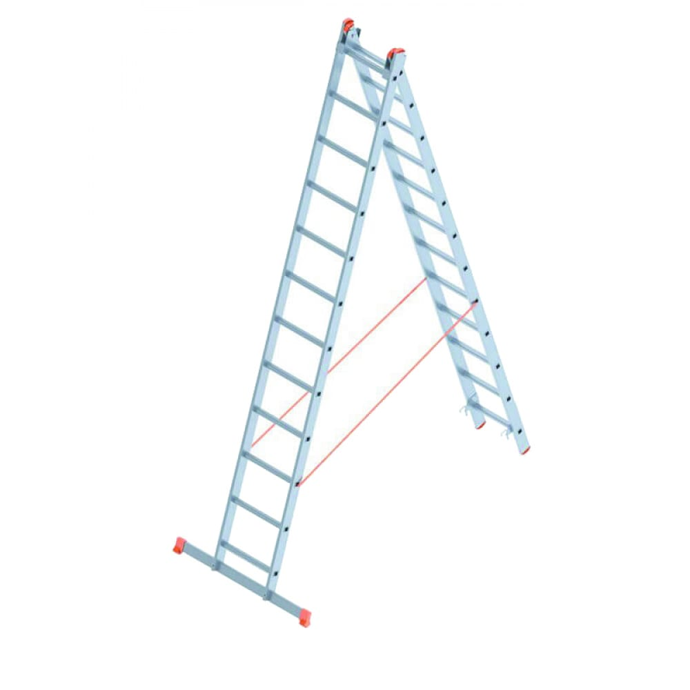 Алюминиевая лестница промышленник 2x12 4212