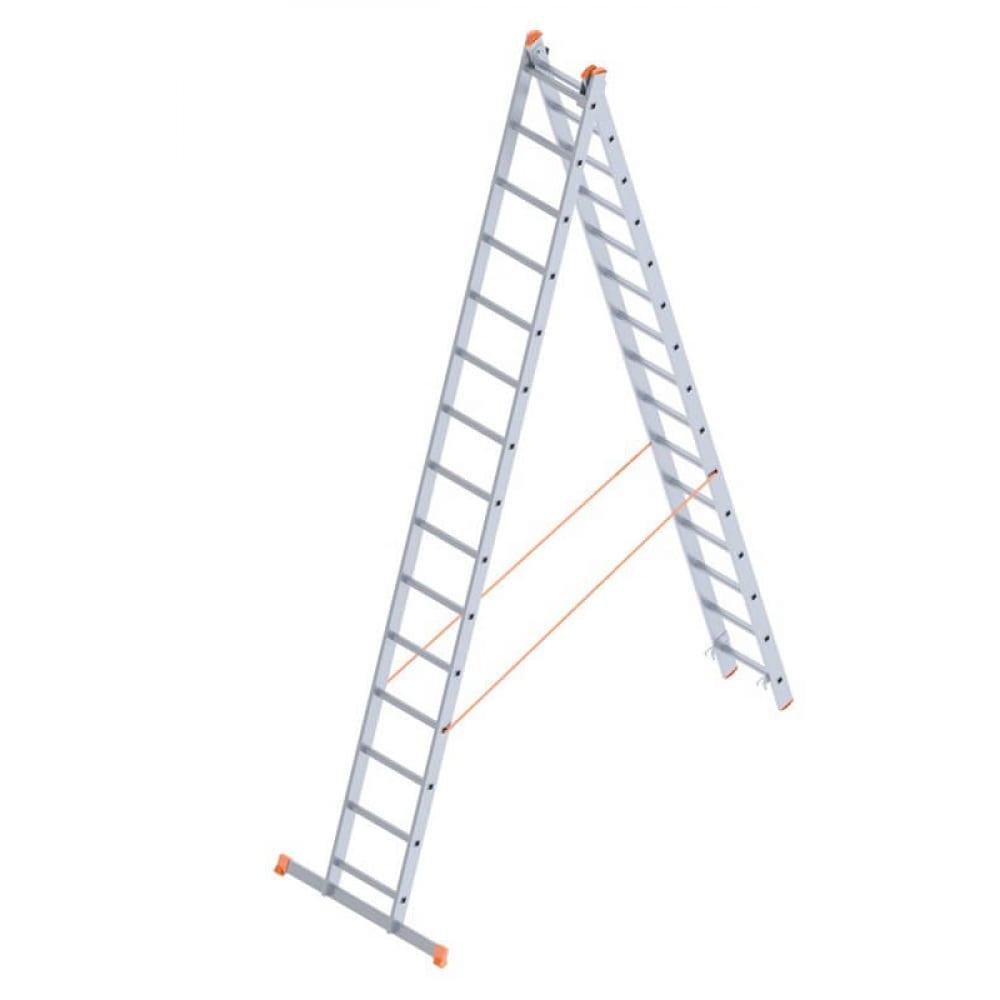 Алюминиевая лестница промышленник 2x15 4215