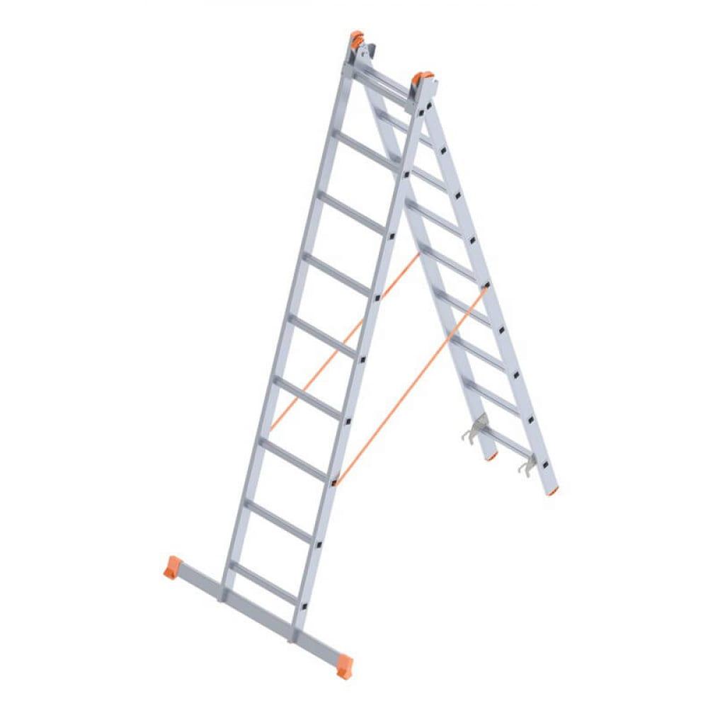 Алюминиевая лестница промышленник 2x9 4209