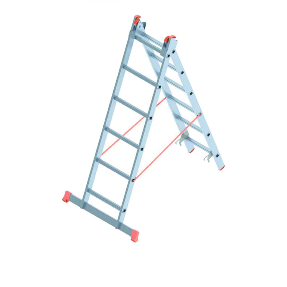 Алюминиевая лестница промышленник 2x6 4206