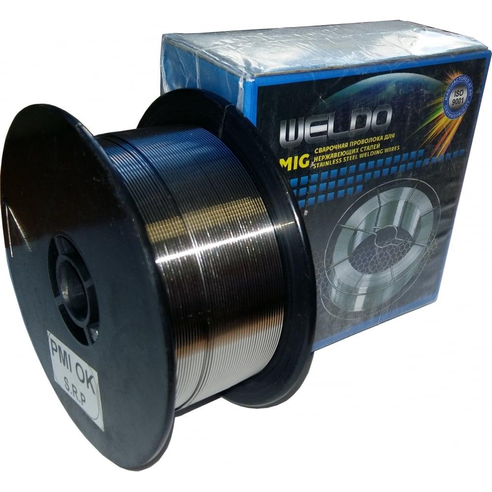 Проволока сварочная нержавеющая er-308lsi (1 кг; 0.8 мм) weldo x3956