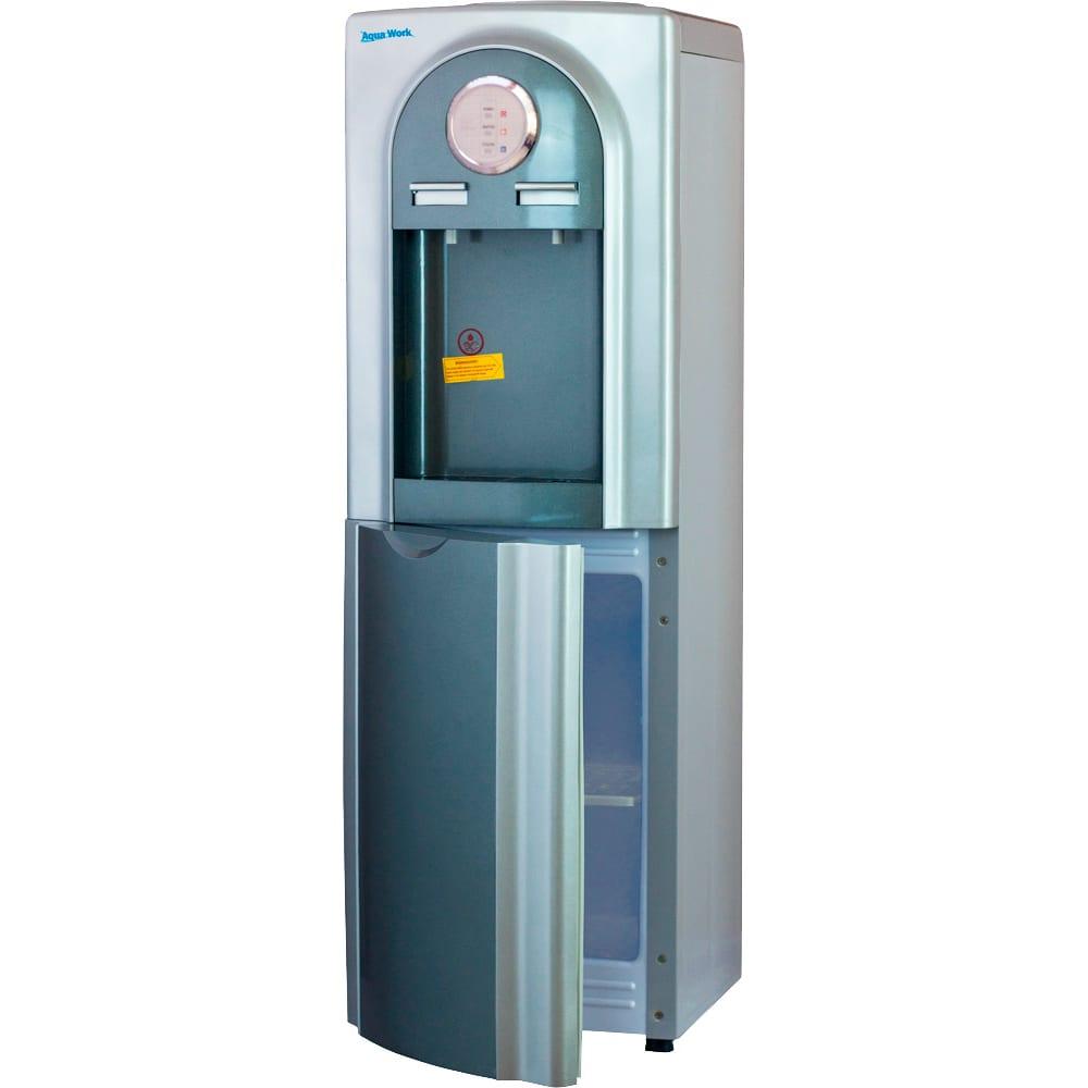 Купить Кулер для воды aqua work ylr1-5-vb серый/серебристый 20277