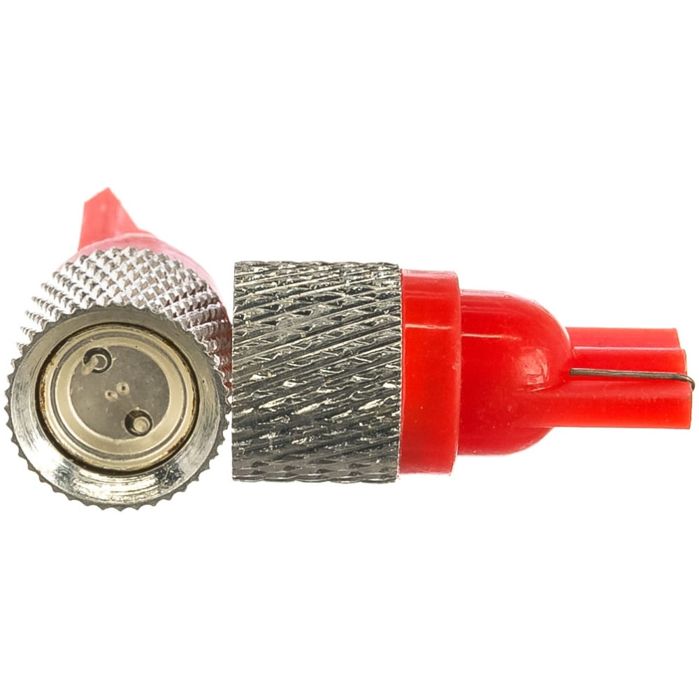 Купить Автолампа диод t10 w5w 1 smd диод без цоколя радиатор 1-контурная красная skyway s08201095