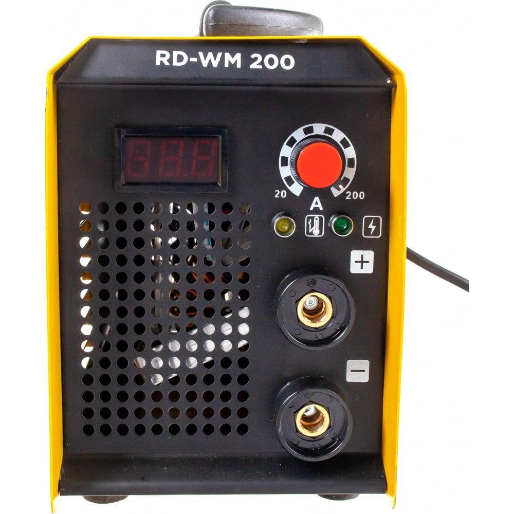 Купить Бестрансформаторный сварочный аппарат redverg rd-wm 200 6626265
