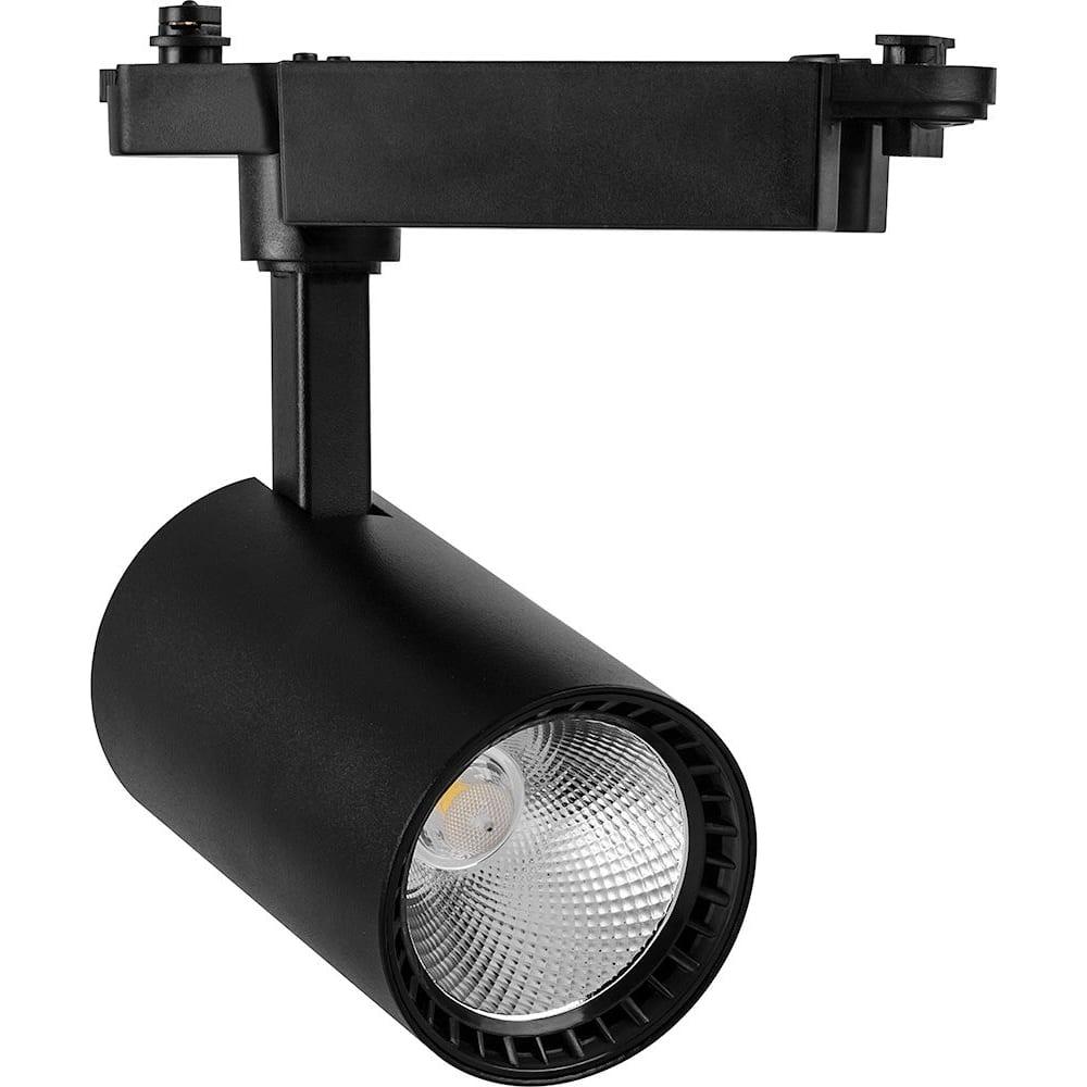 Купить Трековый светодиодный светильник feron на шинопровод 12w, 1080 lm, 4000к, черный, al102 32516