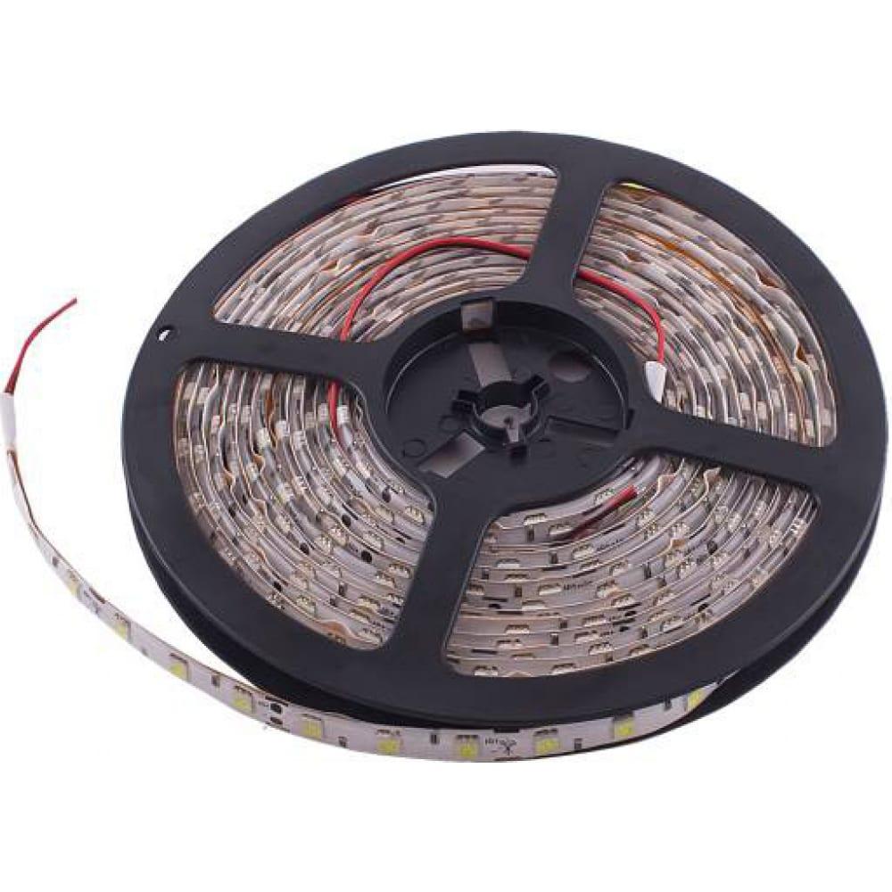 Купить Светодиодная лента skyway 500см, 300 smd диодов 5050 синяя (катушка) белая основа s03201026