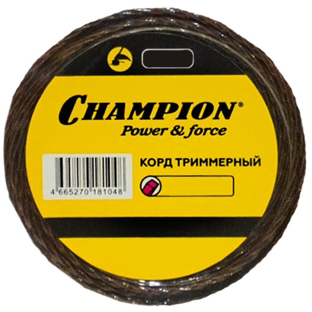 Купить Корд триммерный magic 3.0 мм, 56 м champion c7042
