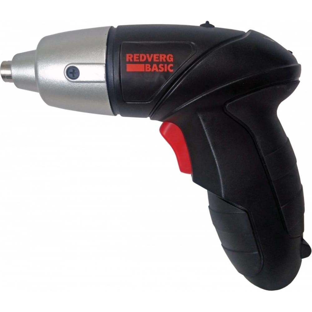 Аккумуляторный шуруповерт redverg basic sd3,6l 6622310