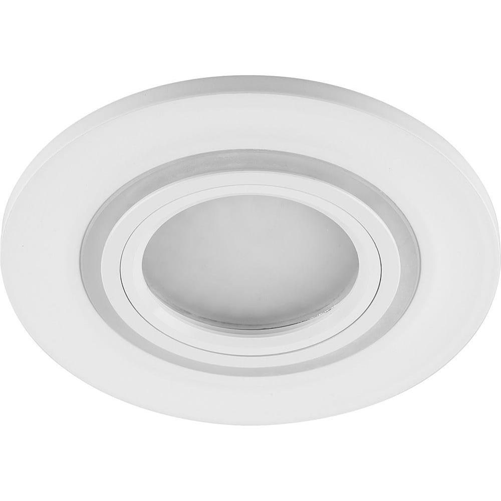 Купить Встраиваемый потолочный светильник feron 15led 2835 smd 4000k mr16 50w g5 3 белый cd600 29711