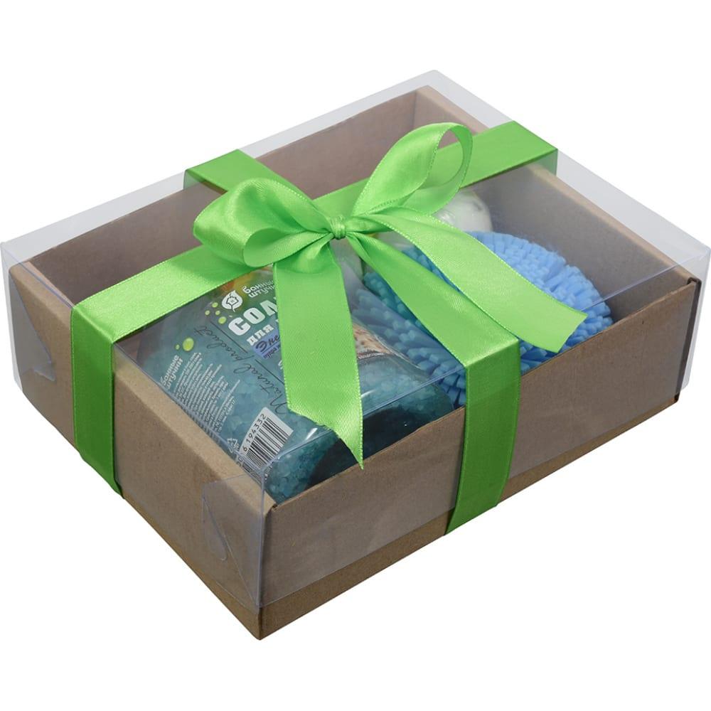Купить Подарочный набор банные штучки морская бодрость 4 предмета 6 41376