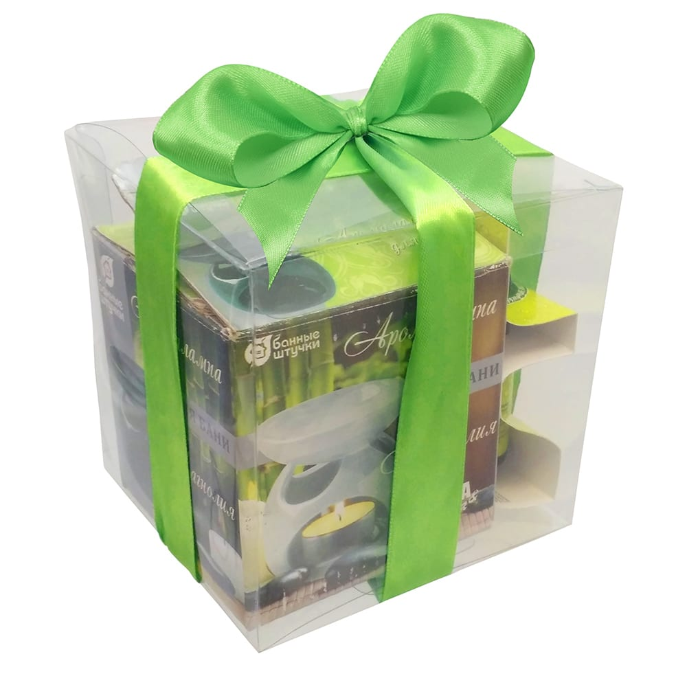 Купить Подарочный набор банные штучки арома 3 предмета 41311