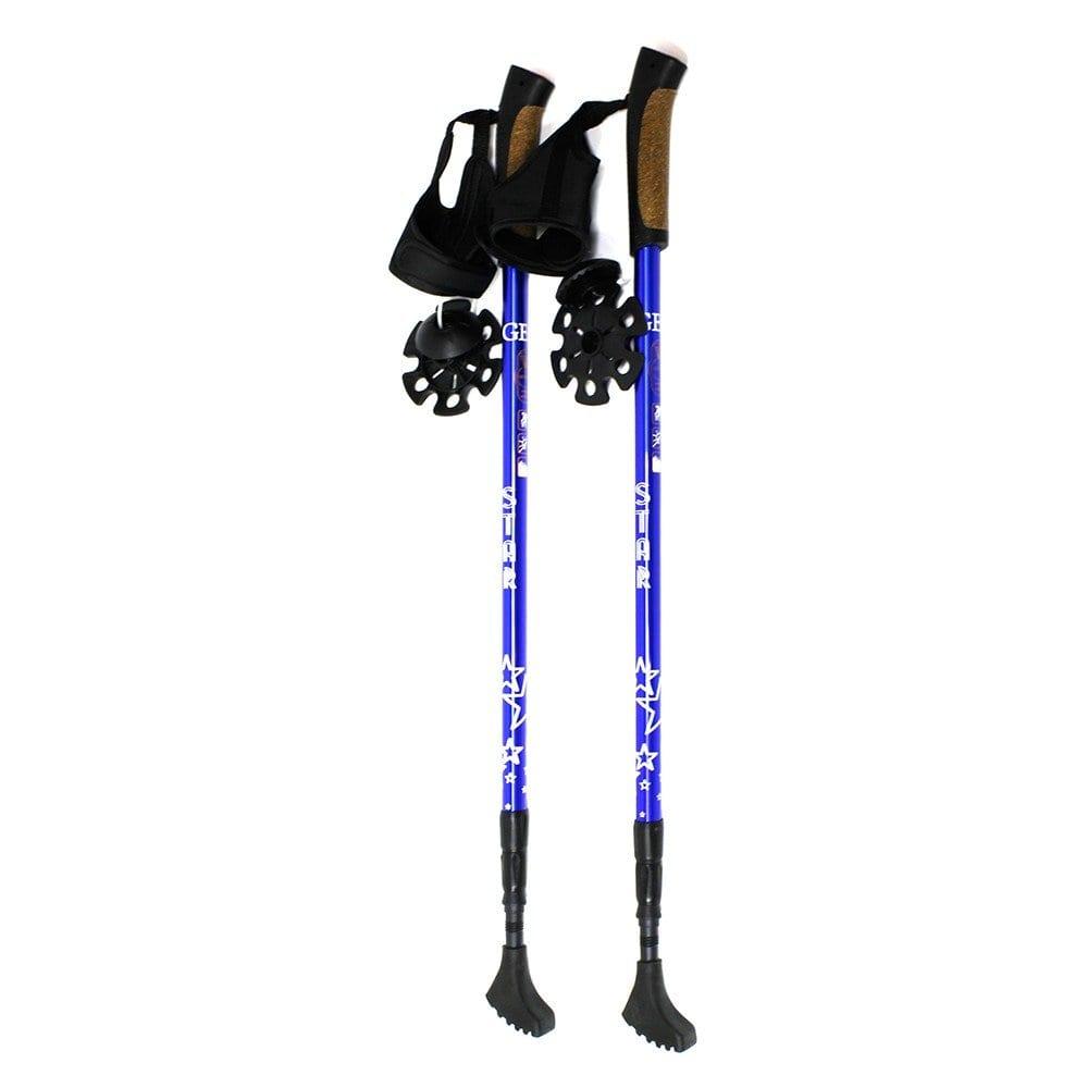 Трехсекционные палки для скандинавской ходьбы gess star