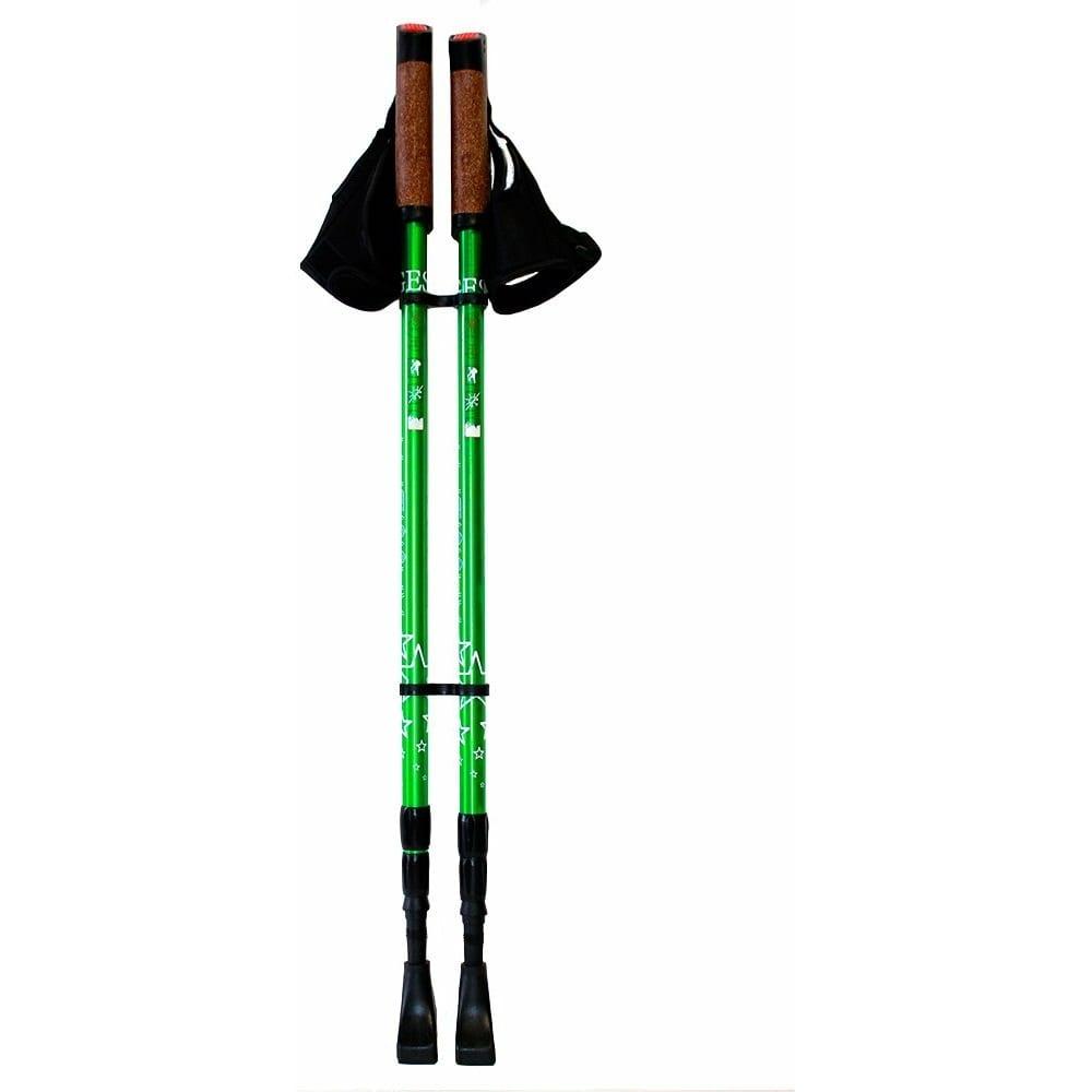 Трехсекционные палки для скандинавской ходьбы gess classic
