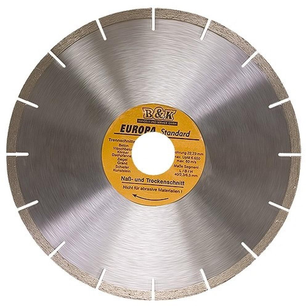 Купить Диск алмазный отрезной сегментный europa standard 115x22.2 мм sparta 73161