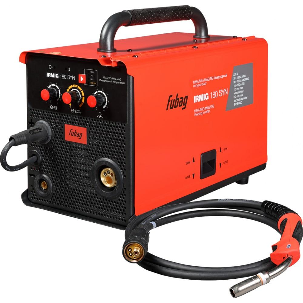 Сварочный полуавтомат инвертор fubag irmig 180 syn 31446 + горелка fb 250 3m 38443 31446.1