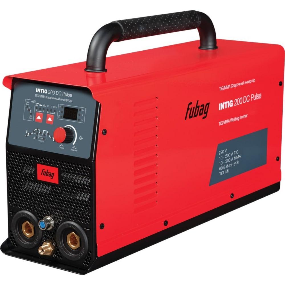 Сварочный инвертор fubag intig 200 dc pulse 31411 + горелка fb tig 26 5p 4m 38459 31411.1