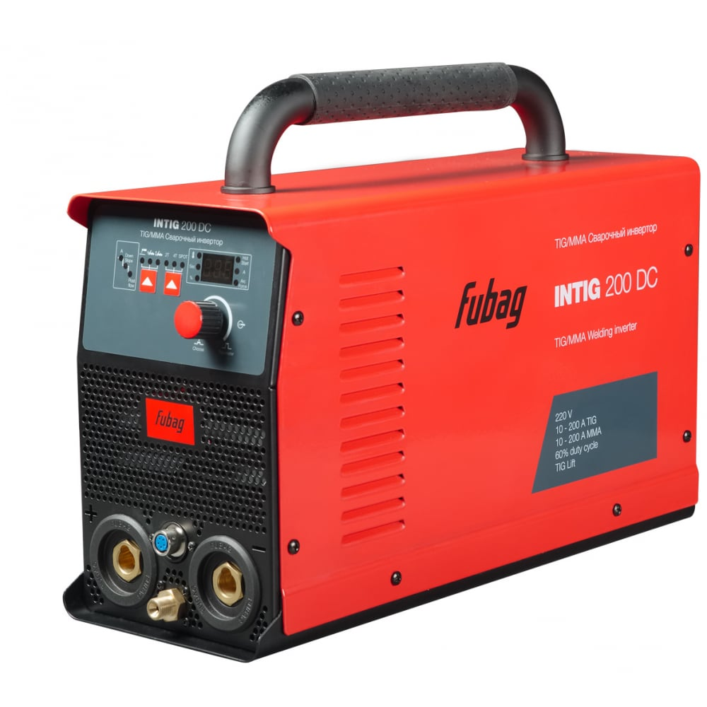 Сварочный инвертор fubag intig 200 dc 31449 + горелка fb tig 26 5p 4m 38459 31449.1