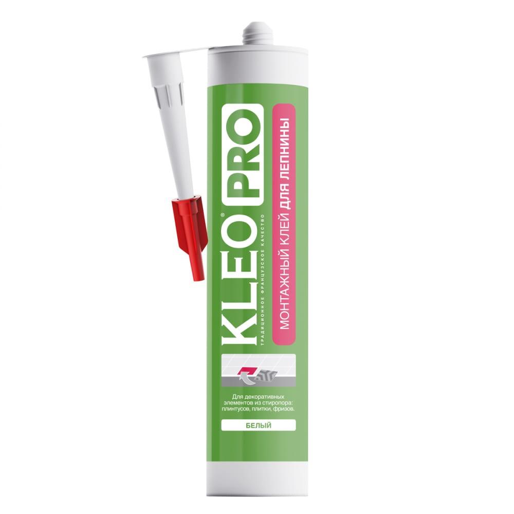 Купить Монтажный клей жидкие гвозди для лепнины kleo 420 гр pro 130 монтаж д/лепнины