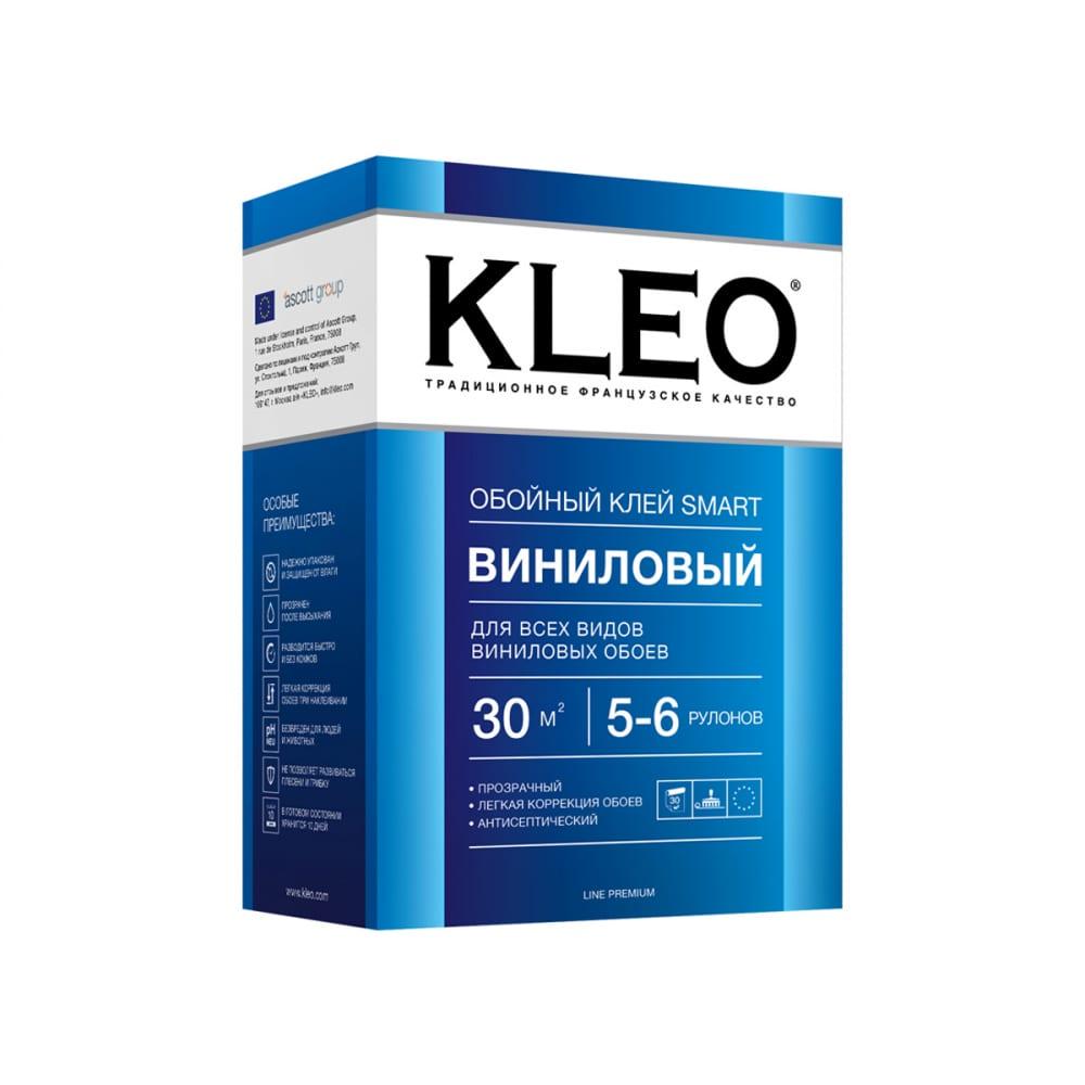 Купить Обойный клей для виниловых обоев kleo сыпучий 020 smart 5-6