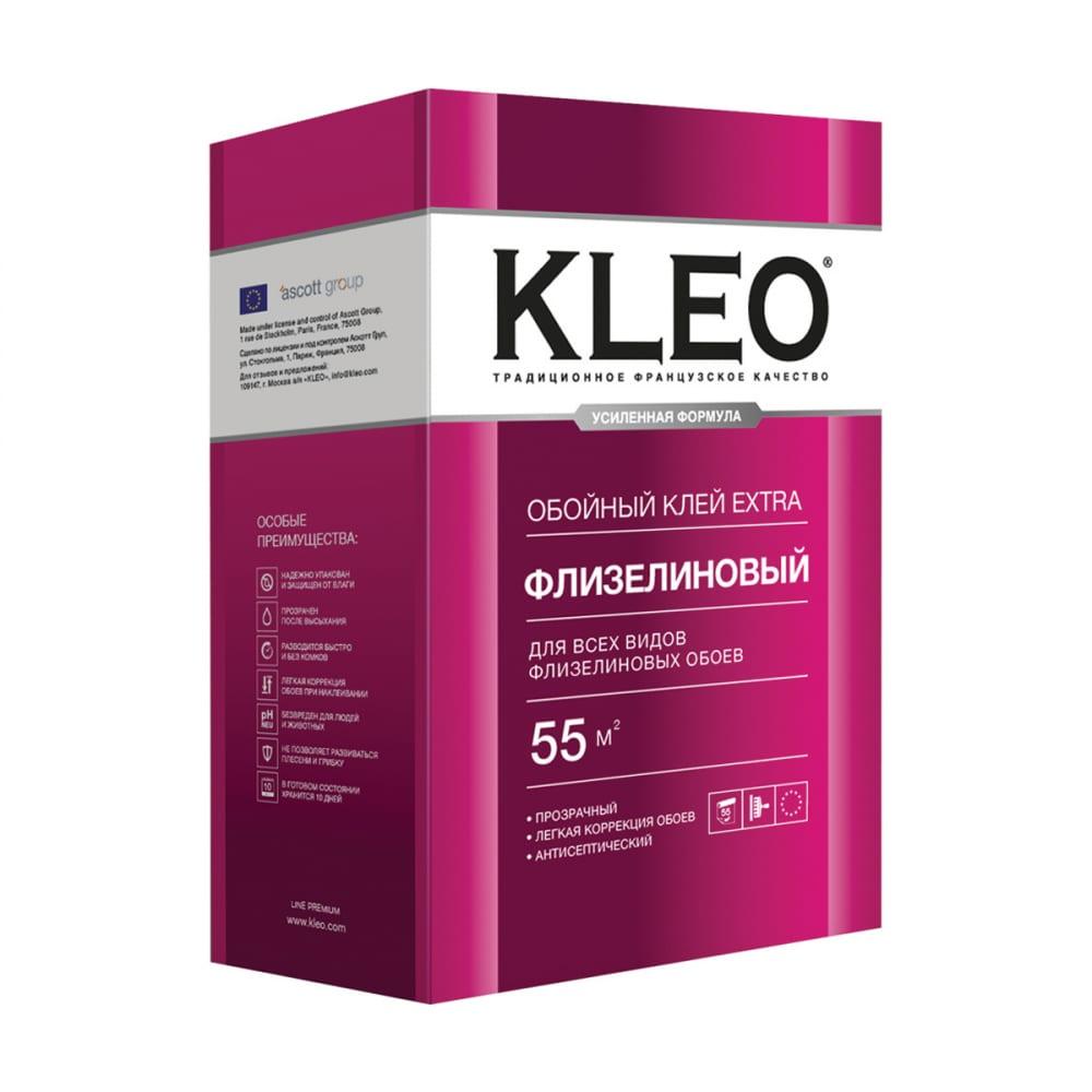 Купить Обойный клей для флизелиновых обоев kleo сыпучий 030 extra 55