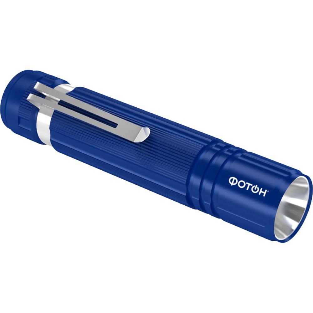 Купить Светодиодный фонарь фотон ms-200 0, 5w, 1хlr6 в комплекте, синий 23446