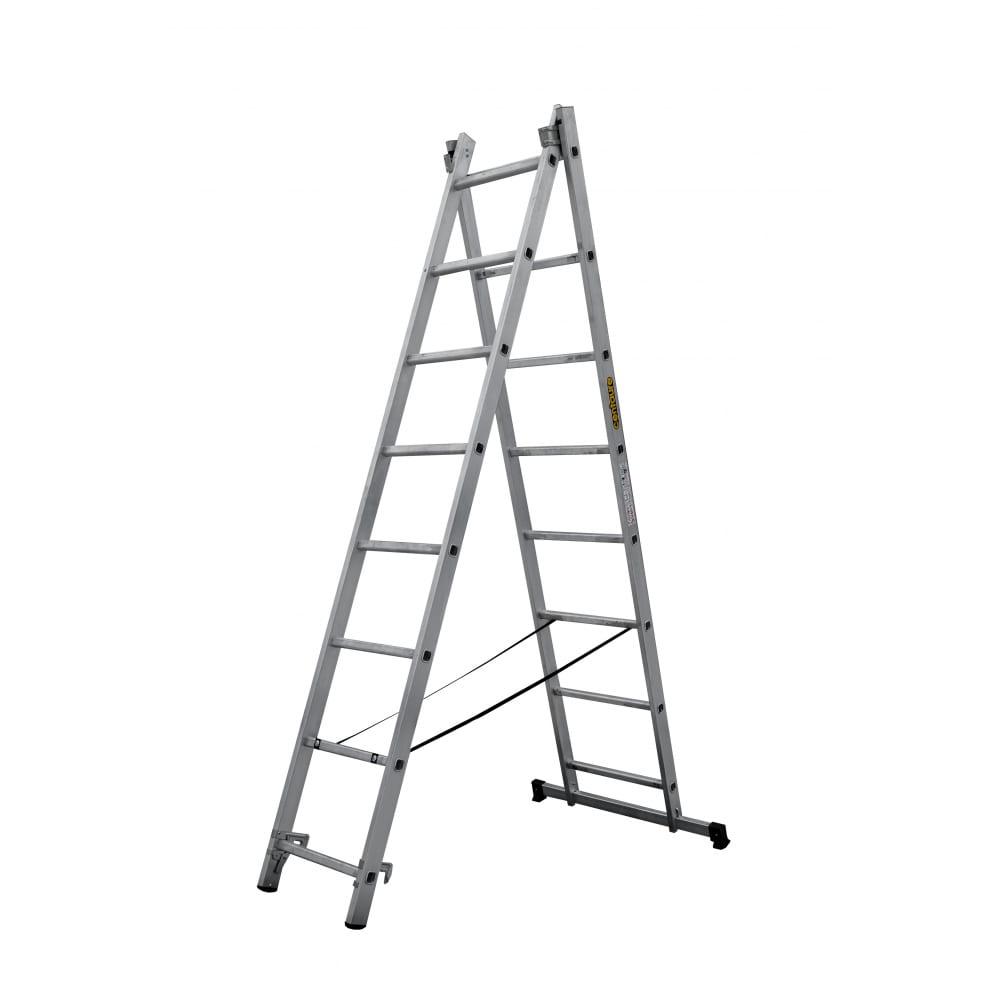 Купить Двухсекционная раскладная лестница centaure ск 2х8 137208