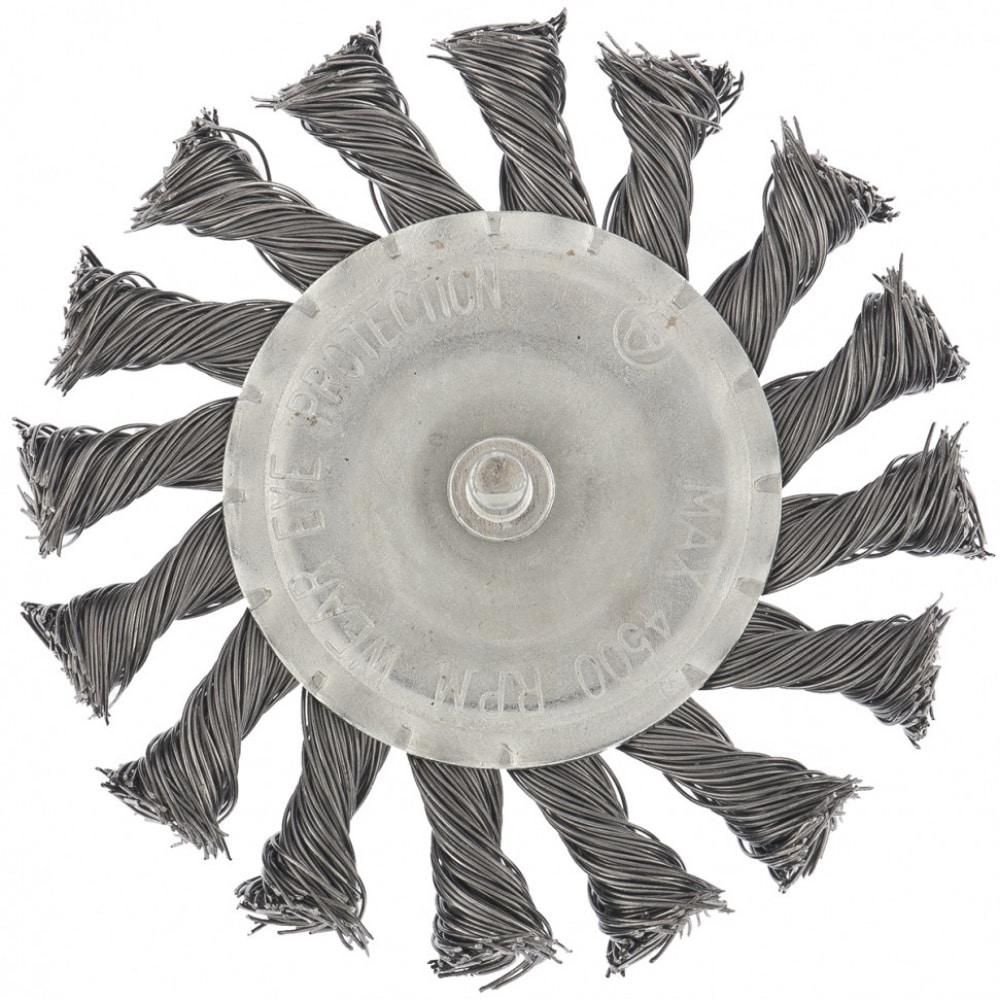 Купить Щетка дисковая для дрели 100 мм matrix 74432