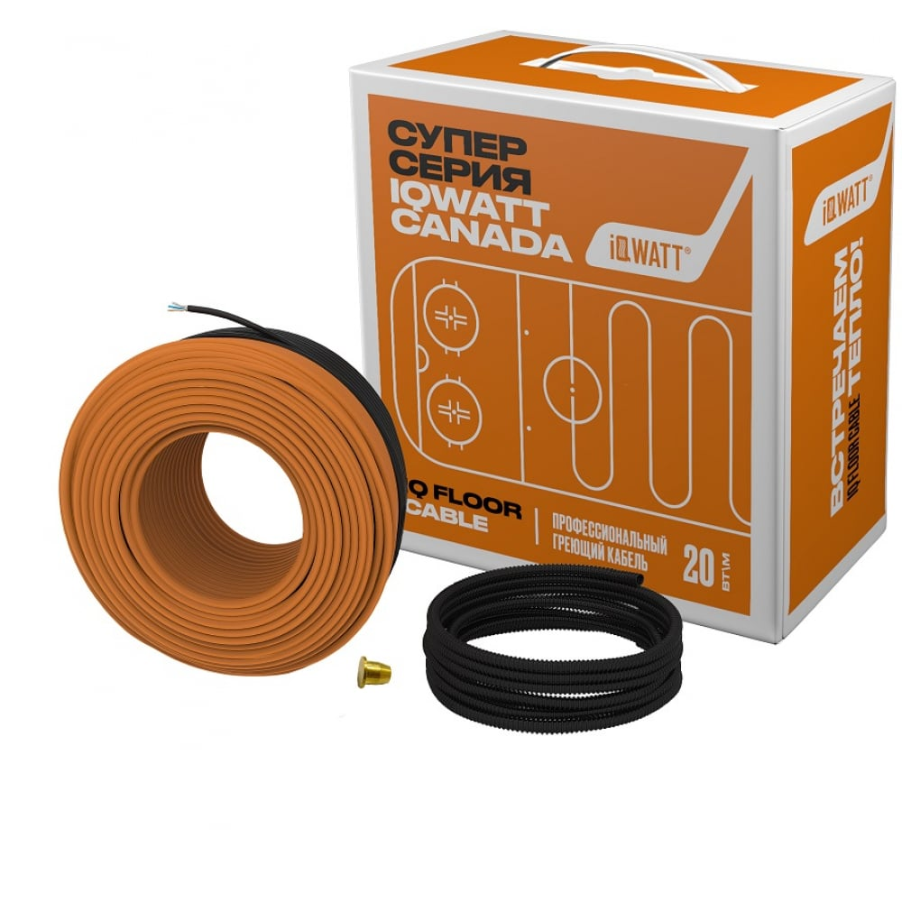 Теплый пол iqwatt iq floor cable-15 039453