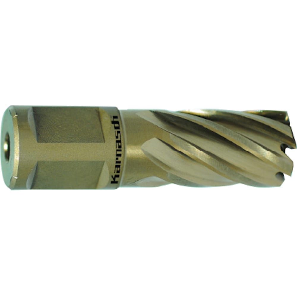 Сверло корончатое (14х30 мм; weldon 19) karnasch