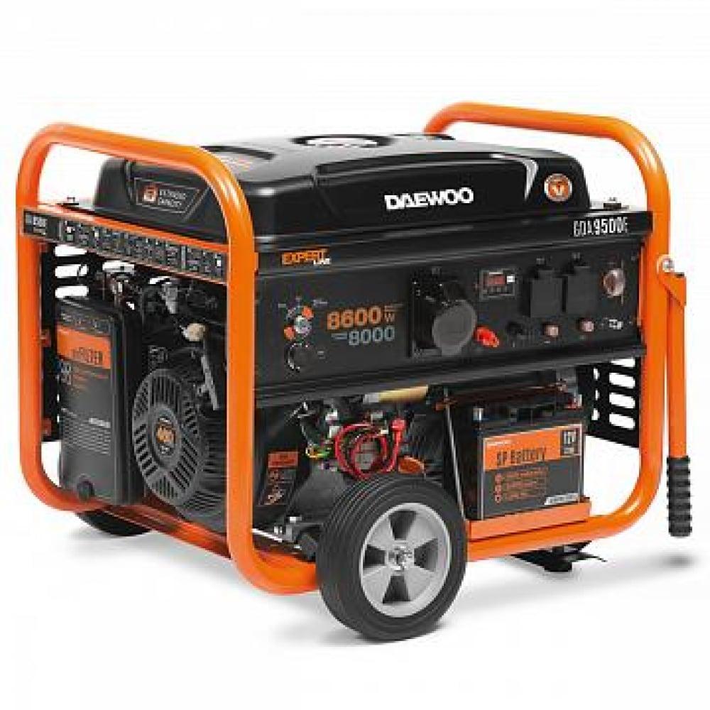 Бензиновый генератор с возможностью подключения ats daewoo gda 9500e