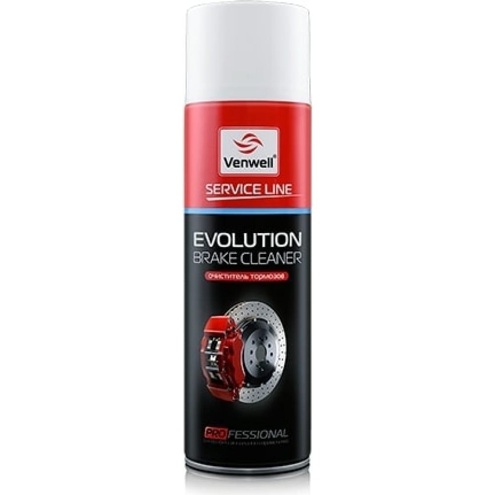Очиститель тормозов venwell evolution brake cleaner