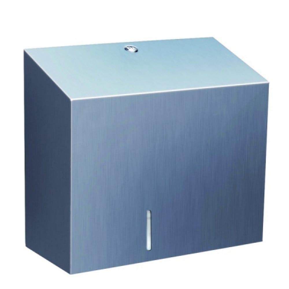 Купить Держатель - контейнер туалетной бумаги merida металлический stella duo bsm202
