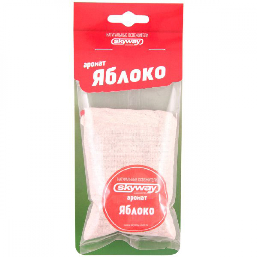 Подвесной ароматизатор - мешочек skyway яблоко s03407010  - купить со скидкой