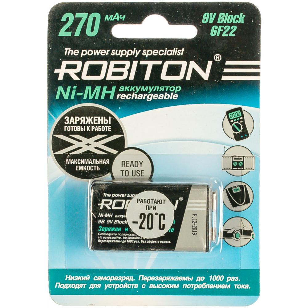 Купить Аккумулятор robiton rtu270mh-1 bl1 13187