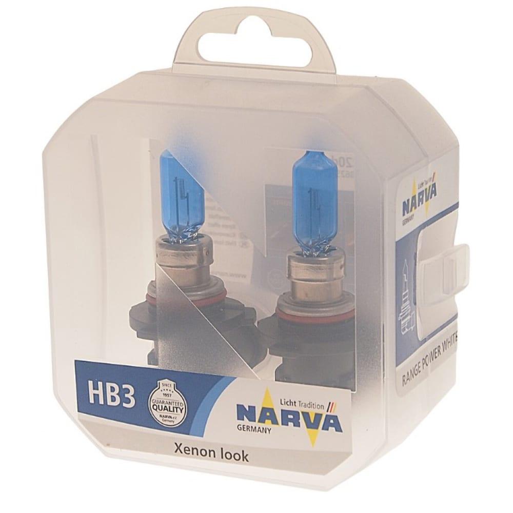 Автолампа narva hb3 9005 60 p20d range