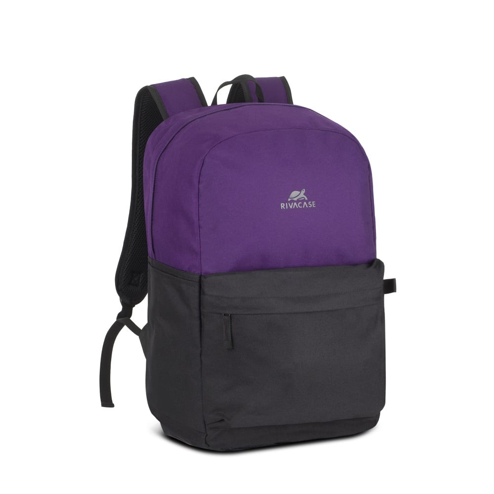 Рюкзак rivacase signal laptop backpack violet/black 20л,