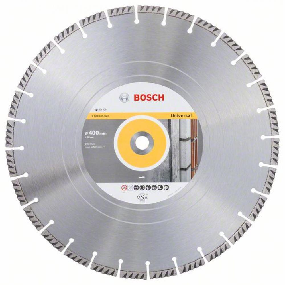 Купить Алмазный диск standard for universal (400х20 мм) bosch 2608615072