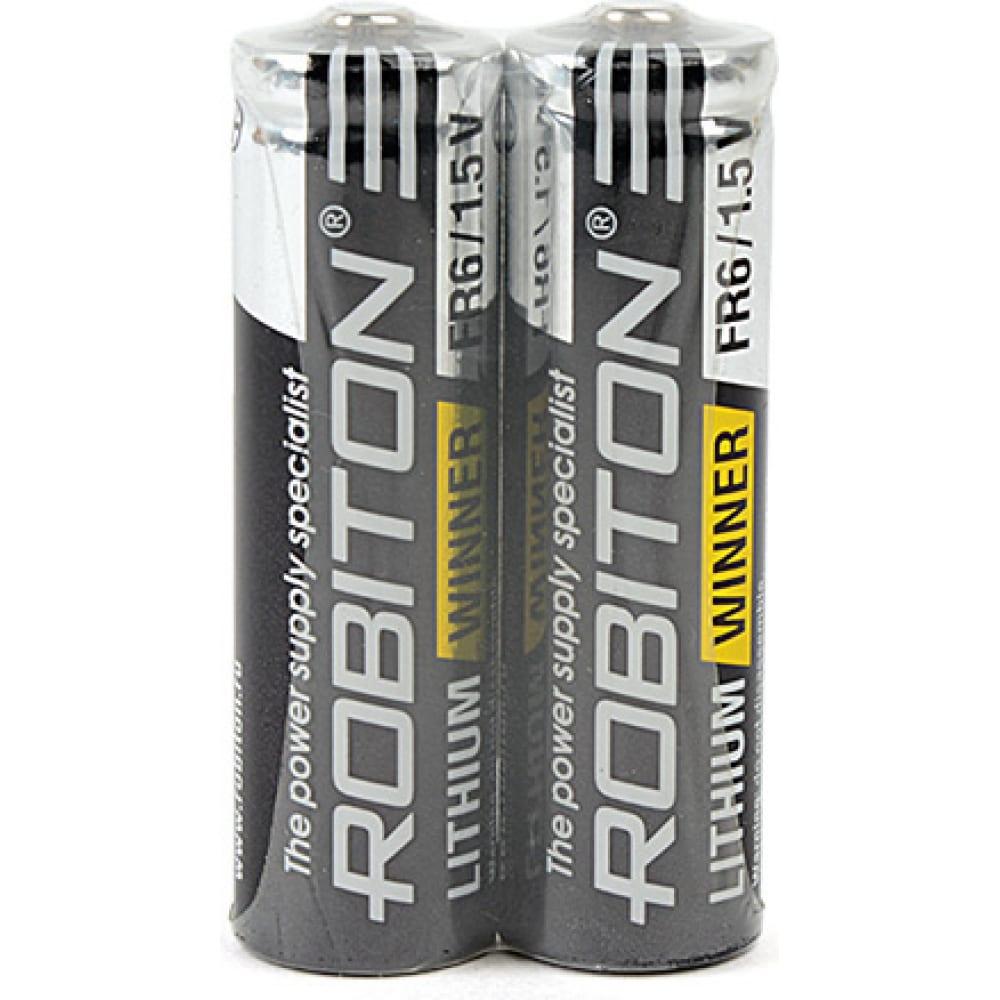 Купить Элемент питания robiton winner r-fr6-sr2 fr6 sr2, в упаковке 2 шт 13689