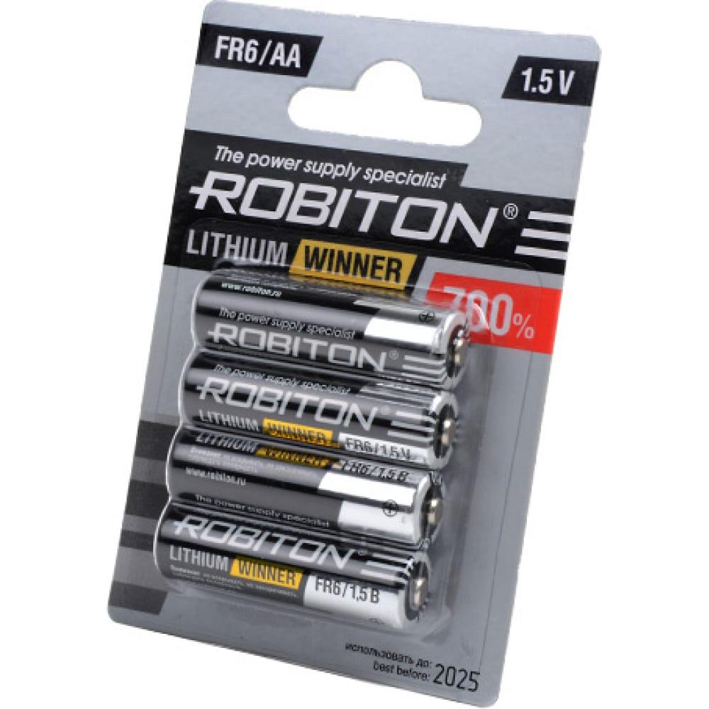 Купить Элемент питания robiton winner r-fr6-bl4 fr6 bl4 13266